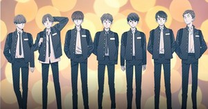 Bangtan Boys Webtoon Series'SAVE ME' fotografias