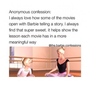 Barbie films Confessions