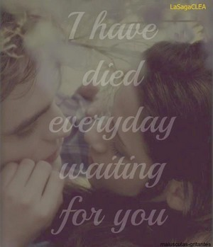 "Edward and Bella ""A Thousand Years"""