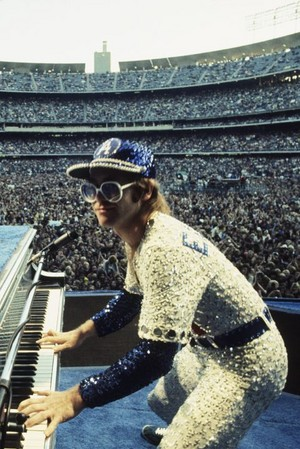 Elton John concerto Dodger Stadium 1975