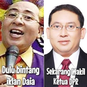 FADLI ZON DULUNYA BADUT IKLAN SEKARANG BADUT DPR
