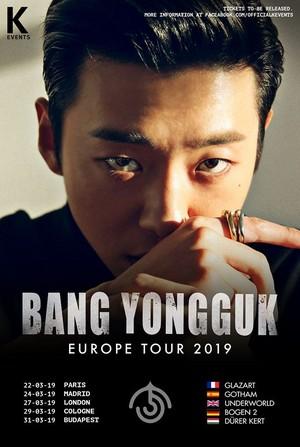 Former B.A.P member Bang Yongguk announces European tour