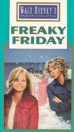 Freaky Friday On cassette vidéo, vidéocassette