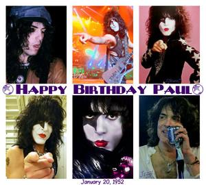 Happy Birthday Paul ~January 20, 1952