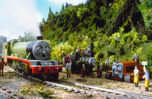 Thomas the Tank Engine Hintergrund entitled Henrear And Fried Chicken