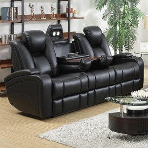 High Tech Delange Reclining Power Sofa | Touch Control Feature | All World Furniture Warehouse