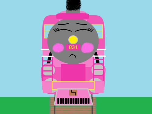 Thomas the Tank Engine Hintergrund titled Jazlin slips