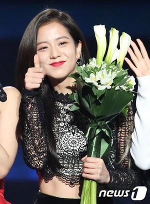 Jisoo at Gaon Chart संगीत Awards 2019