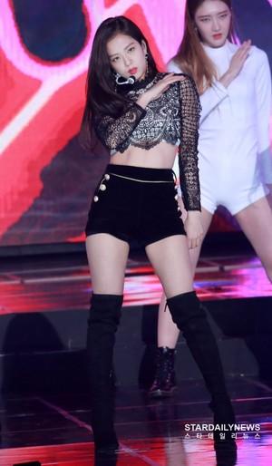 Jisoo at Gaon Chart Music Awards 2019
