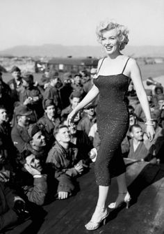 Marilyn In Korea 1954