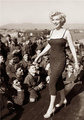 Marilyn In Korea 1954 - marilyn-monroe photo