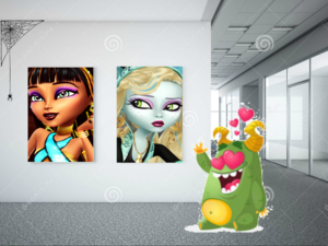 Monster High Art Gallery