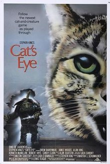 Movie Poster 1985 Film, Cat's Eye