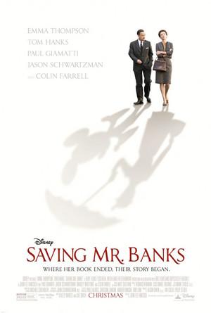 Movie Poster Saving Mr. Banks
