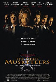Movie Poster The Three Musketeers