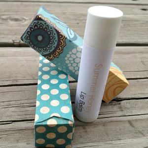 Paper lip gloss box