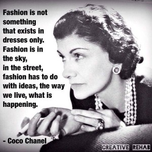 Quote From Coco Chanel