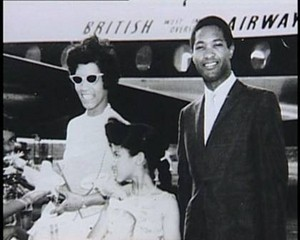 Sam Cooke On Tour With His Family