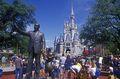 Statue Of Walt Disney - disney photo