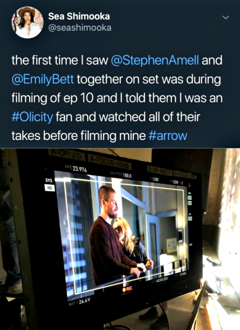 Stephen and Emily - BTS