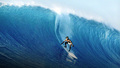 Surfing The Hawaiian Waves