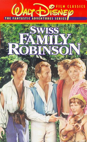 Swiss Family Robinson On video kassette, videokassette