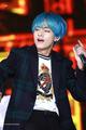 Taehyung/ V(blue haired)💖 - v-bts photo