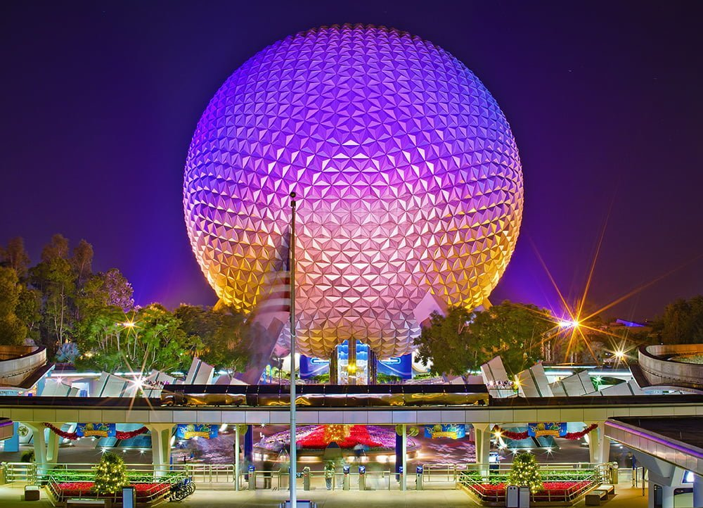 Disney Images The Epcot Center Hd Wallpaper And Background Photos