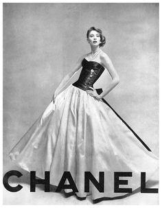 Vintage Chanel Promo Ad
