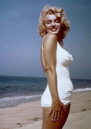 marilyn monroe height weiurements