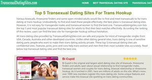 transexual dating sites