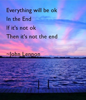 An Inspirational Quote From John Lennon