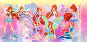 Bloom Evolution winx and Friends