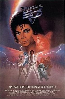 Captain EO. Movie Poster