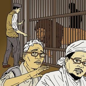 HABIB RIEZQI SHIHAB BUNI YANI GO TO JAIL