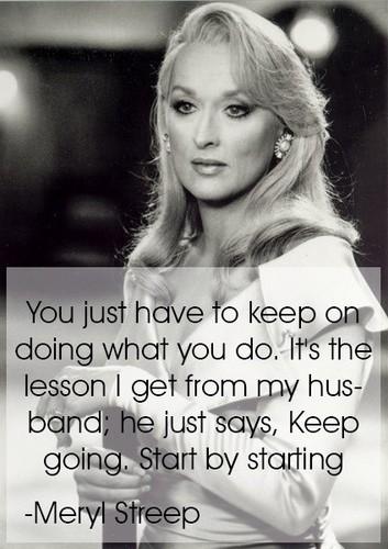 Lavendergolden Hintergrund entitled Meryl Streep Inspiration 🧡