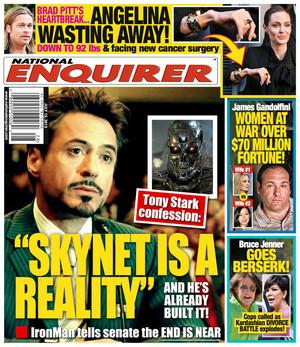 National Enquirer Magazine Cover