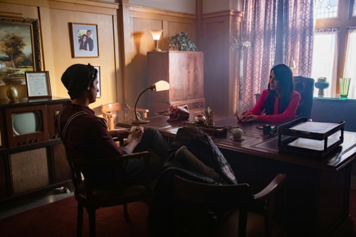 """Riverdale (2017 TV series) 壁紙 titled Riverdale 3x11 """"Chapter Forty-Six: The Red Dahlia"""" Promotional 画像"""