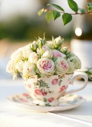 tasse à thé Arrangement
