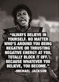 Quote From Michael Jackson - michael-jackson photo
