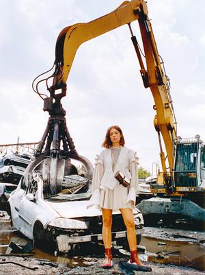 adele Exarchopoulos - Antidote Magazine Photoshot - 2018