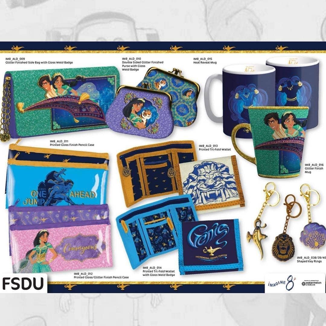 Аладдин 2019 merchandise