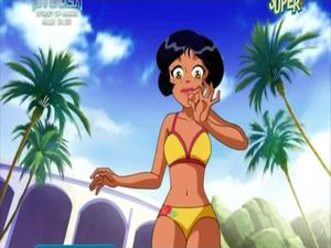 Alex in bikini