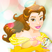 Belle - childhood-animated-movie-heroines icon