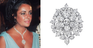 Elizabeth Taylor's Diamond Broach