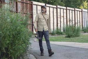 Jeffrey Dean মরগান as Negan in 9x09 'Adaptation'