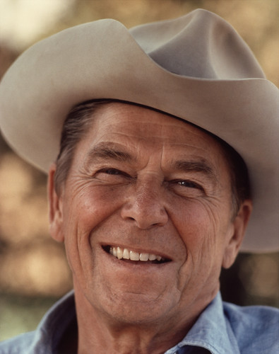 The Presidents of The United States achtergrond called Ronald Reagan