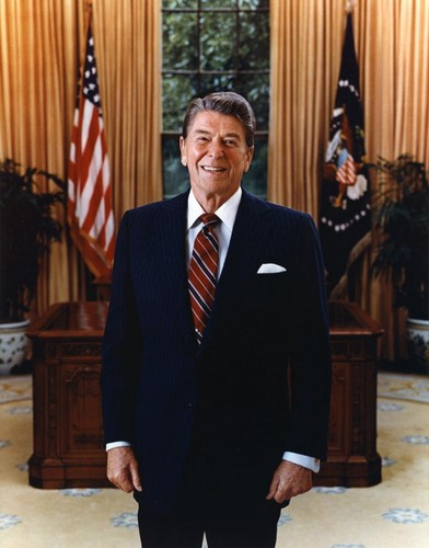 The Presidents of The United States wallpaper titled Ronald Reagan