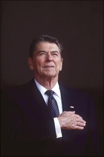 U.S. Republican Party Hintergrund entitled Ronald Reagan