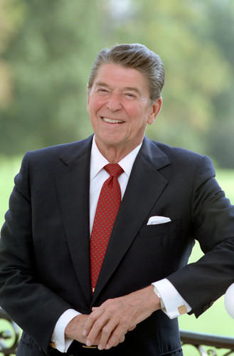 U.S. Republican Party Hintergrund titled Ronald Reagan